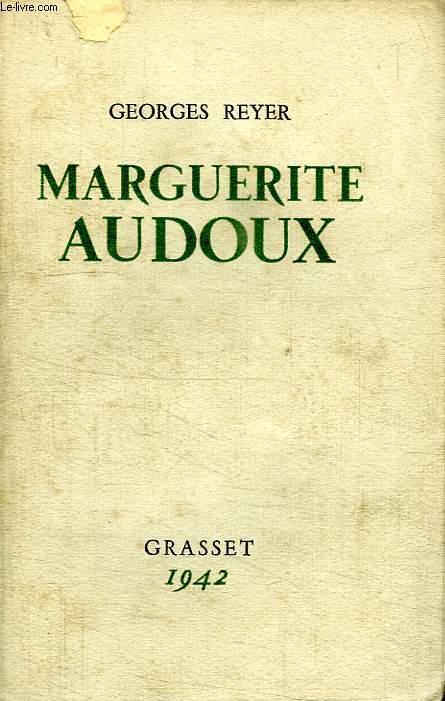 MARGUERITE AUDOUX.
