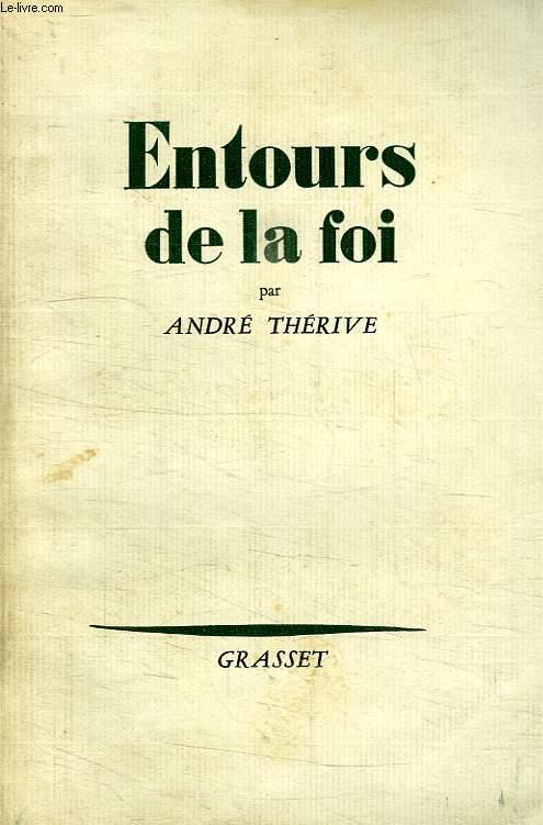 ENTOURS DE LA FOI.
