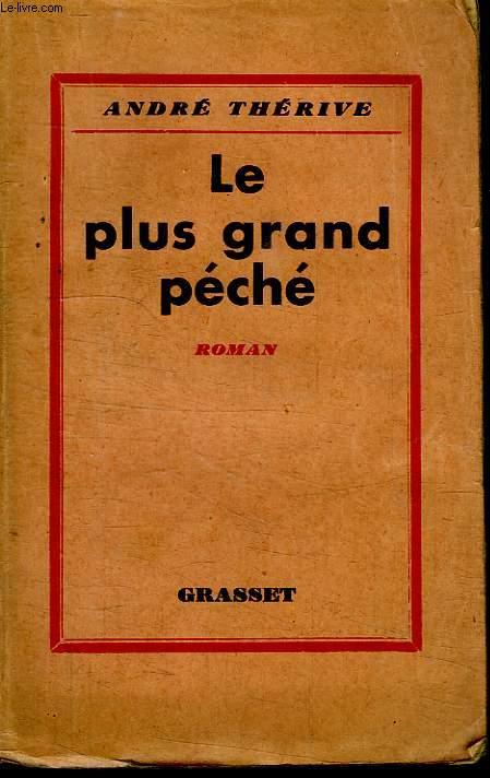 LE PLUS GRAND PECHE.