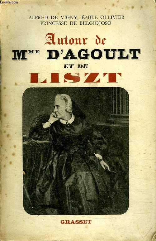 AUOUR DE Mme D AGOULT ET DE LISZT.