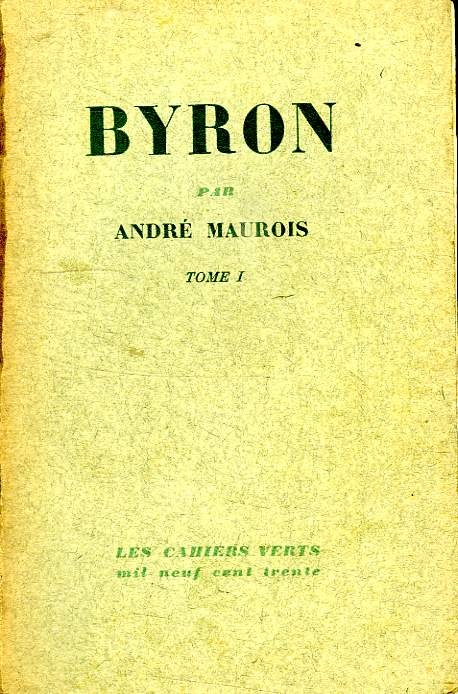 BYRON. TOME 1.