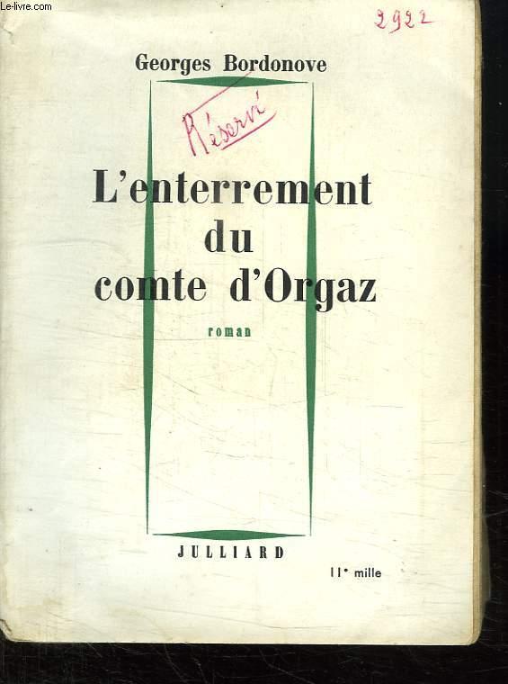 L ENTERREMENT DU COMTE D ORGAZ.