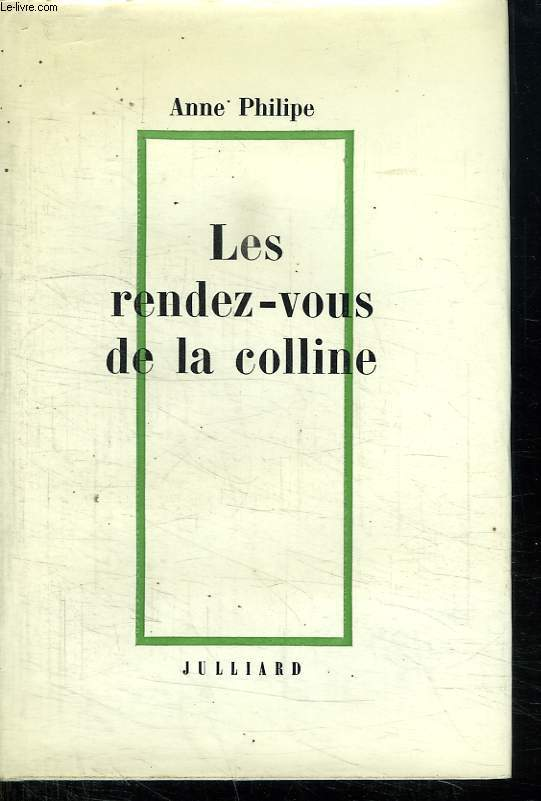 LES RENDEZ VOUS DE LA COLLINE.