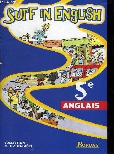SURF IN ENGLISH. ANGLAIS 5e +  CD AUDIO SOUS BLISTER.