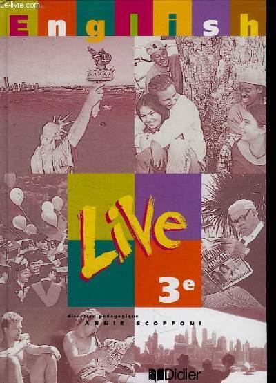 ENGLISH LIVE 3 e.