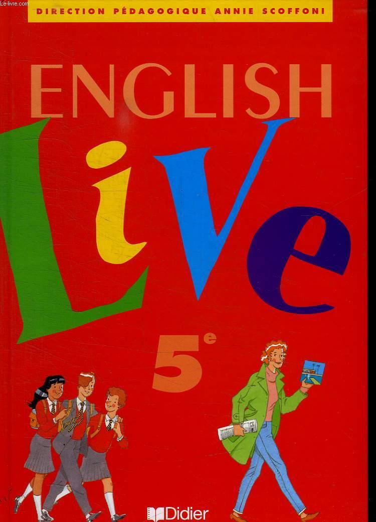 ENGLISH LIVE 5 e.