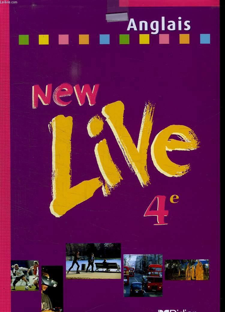 NEW LIVE 4 e + CD DE DEMONTRATION SOUS BLISTER.