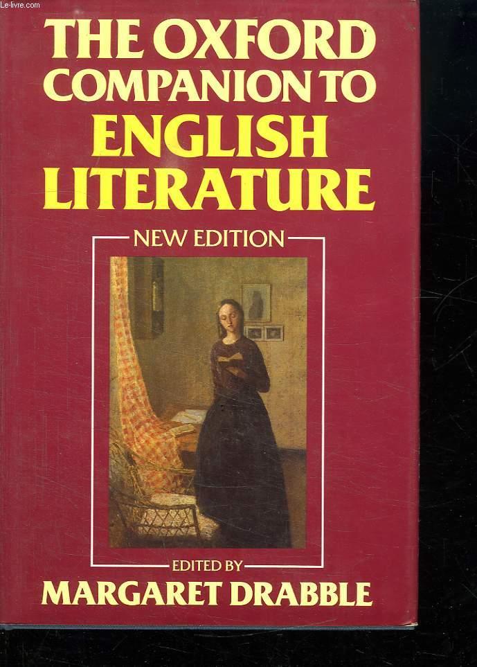 THE OXFORD COMPANION TO ENGLISH LITERATURE. FIFTH EDITION.