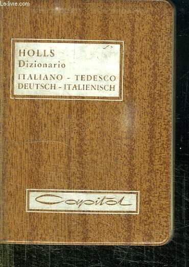 DIZIONARIO ITALIANO - TEDESCO, DEUTCH - ITALIENISCH.