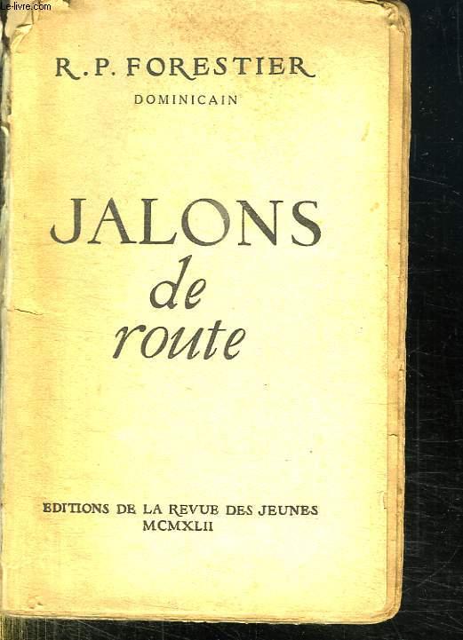 JALONS DE ROUTE.