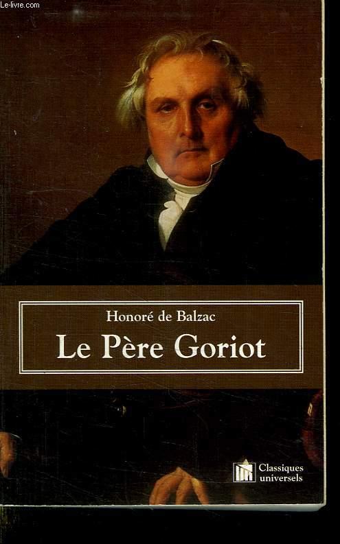 LE PERE GORIOT.