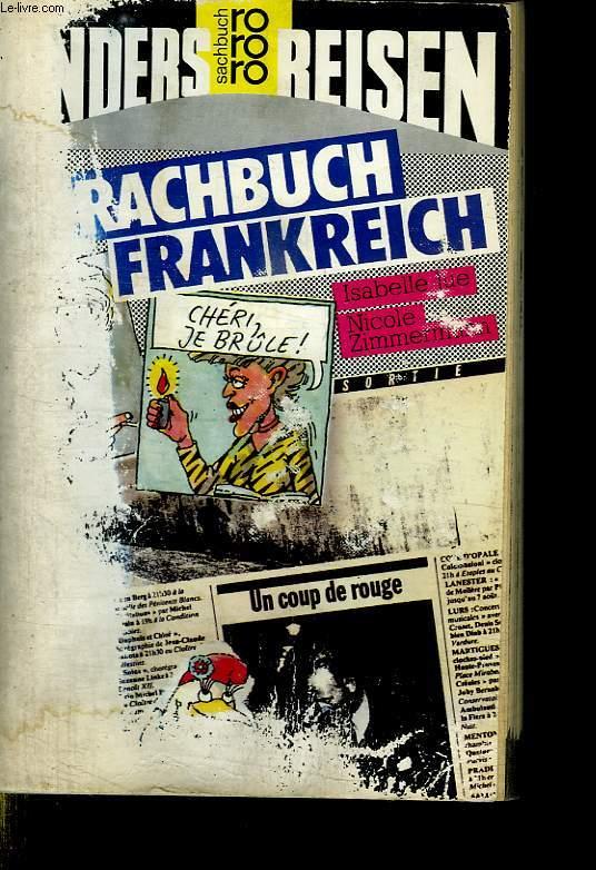 SPARCHBUCH FRANKREICH. FRANZOSISCHES SPRACHTELIER.