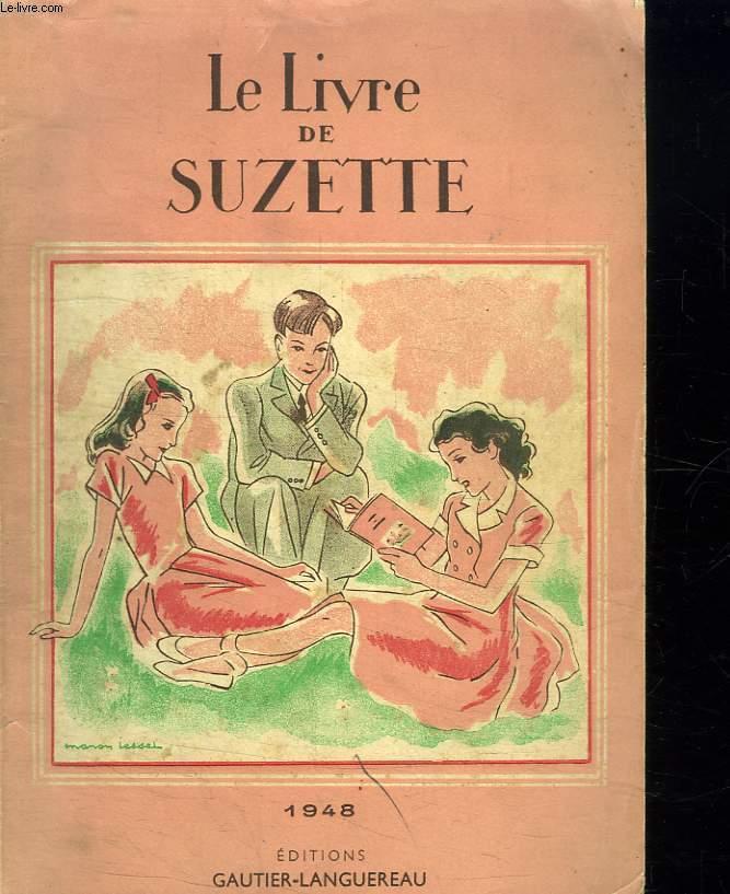 LE LIVRE DE SUZETTE.
