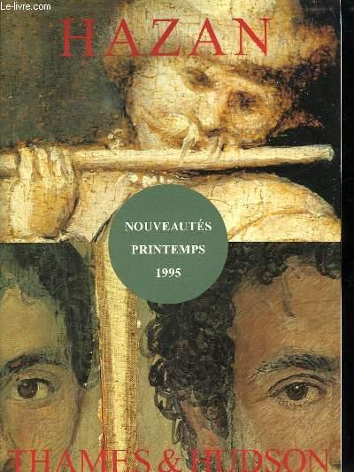 HAZAN. NOUVEAUTES PRINTEMPS 1995.