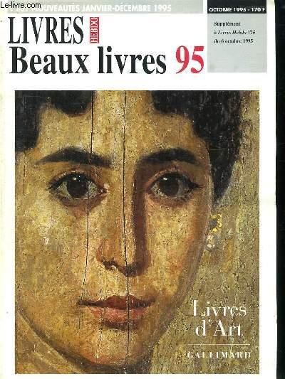 LIVRES D ART. BEAUX LIVRES 95.