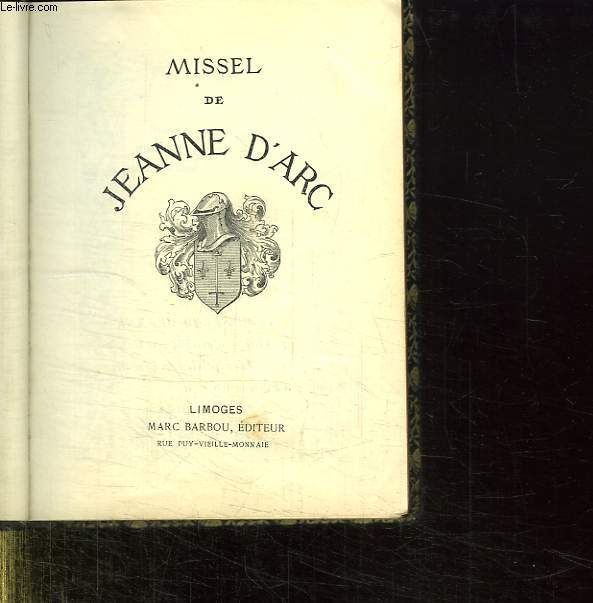 MISSEL DE JEANNE D ARC.