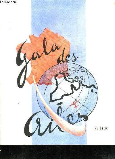 GALA DES AILES. SAMEDI 7 MAI 1949.