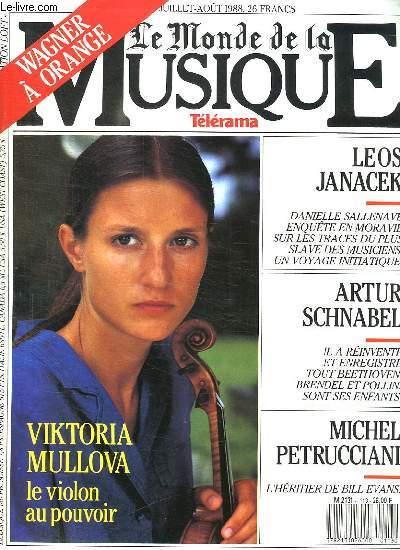 LE MONDE DE LA MUSIQUE N° 113. JUILLET AOUT 1988. SOMMAIRE:   L ANNEE DE LA DANSE A MI PARCOURS. LA RADIO IMAGE LA CHRONIQUE DE  MICHEL CHION.