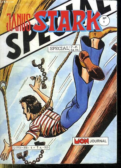 JANUS STARK N° 1 HORS SERIE. MON JOURNAL. MARS AVRIL 1986.