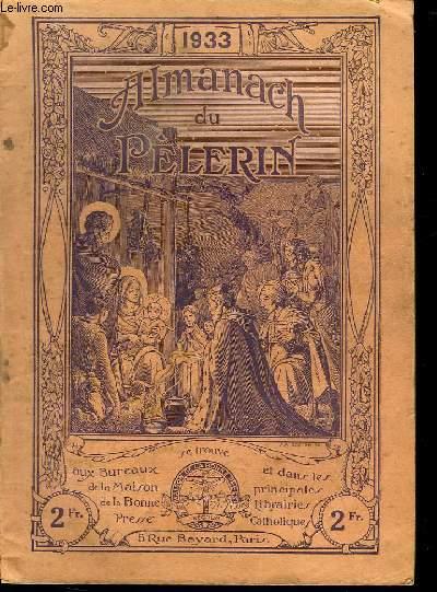ALMANACH DU PELERIN 1933.