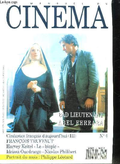 CINEMA N° 4. SOMMAIRE: DOSSIERS ABDEL FERRARA. LE BIOPIC. FRANCOIS TRUFFAUT...
