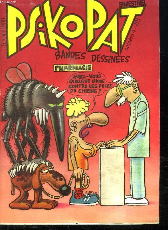 PSIKOPAT N° 4 FEVRIER 1990.