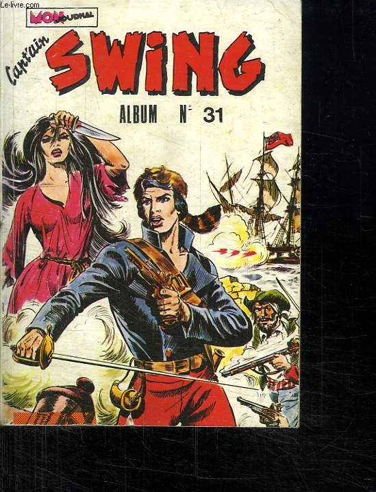 ALBUM CAPTAIN SWING N° 31. DU N° 121 AU N° 124.