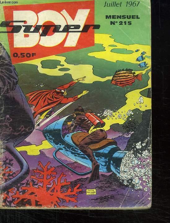 SUPER BOY N° 215. LE BATEAU FANTOME.