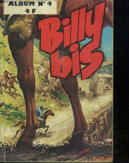 BILLY BIS. ALBUM N° 4. DU N° 13 AU N° 16.