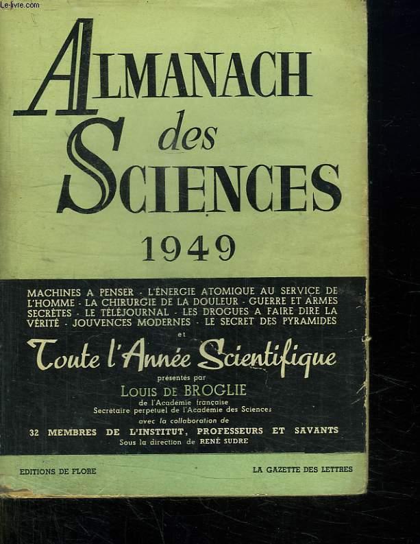 ALMANACH DES SCIENCES 1949.