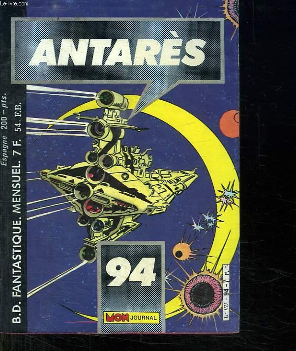ANTARES N° 94. LES ECEUILS ROUGES.
