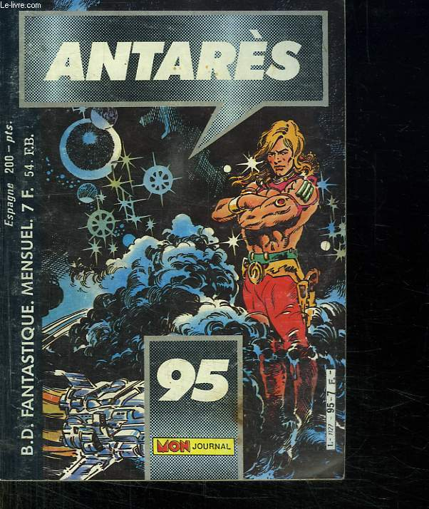 ANTARES N° 95. LE TEMPLE D OR.