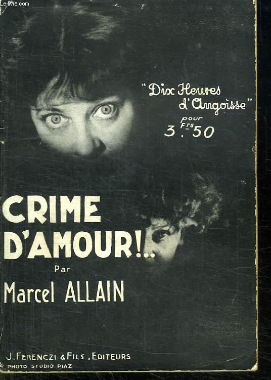 CRIME D AMOUR !