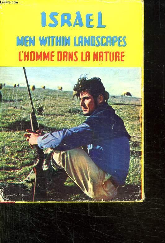 ISRAEL. L HOMME  DANS LA NATURE. TEXTE EN ARABE ET EN FRANCAIS.