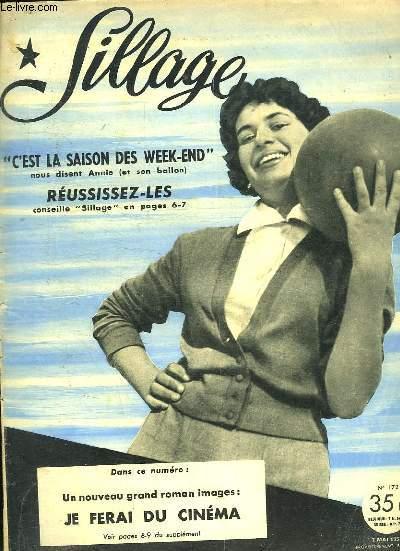 SILLAGE. N° 172. 7 MAI 1953.