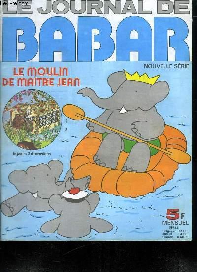 LE JOURNAL DE BABAR. N° 53.