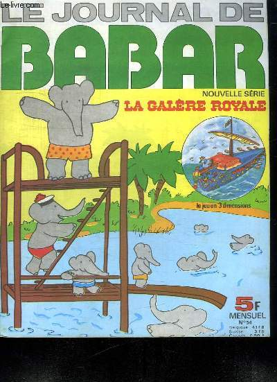 LE JOURNAL DE BABAR. N°  54.