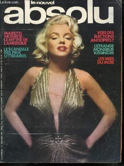 LE NOUVEL ABSOLU. N° 10. NOVEMBRE 1976.