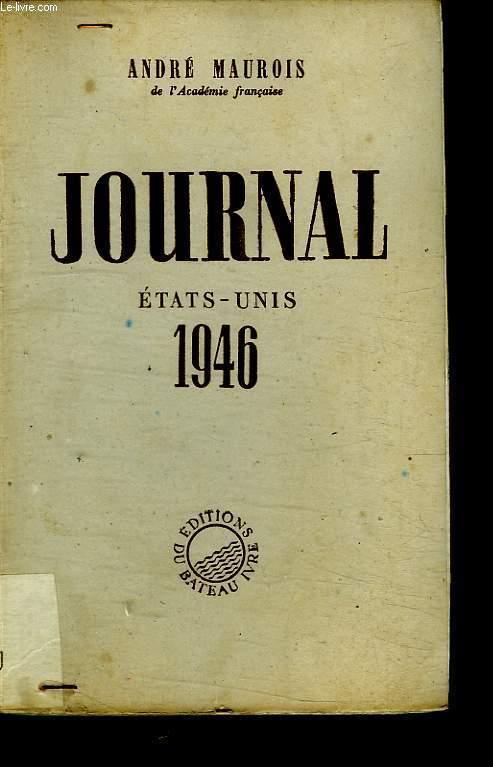 JOURNAL ETAT UNIS 1946.