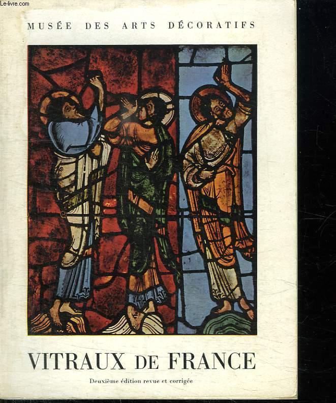 VITRAUX DE FRANCE DU XI AU XVI SIECLE.