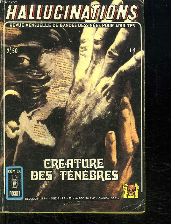 HALLUCINATIONS N° 14. CREATURE DES TENEBRES.