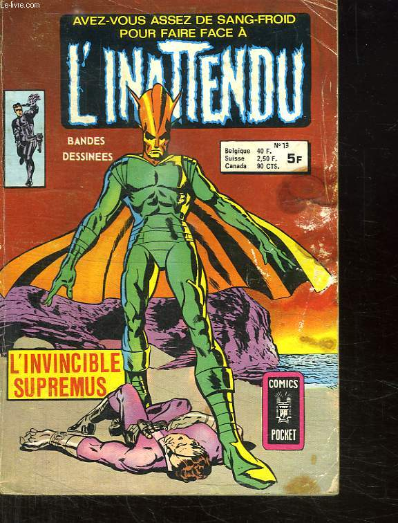 L INATENDU N° 13. L INVINCIBLE SUPREMUS.