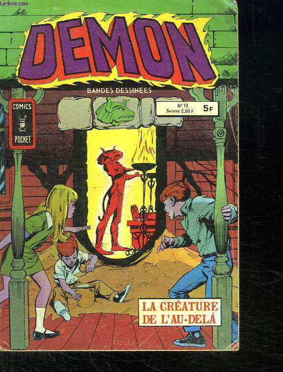 DEMON N° 13. LA CREATURE DE L AU DELA.