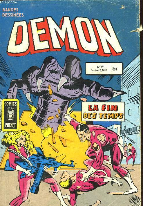 DEMON N° 12. LA FIN DES TEMPS.