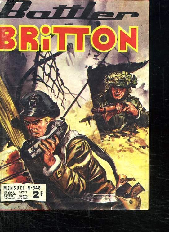 BATTLER BRITTON N° 348. MISSION SUICIDE.
