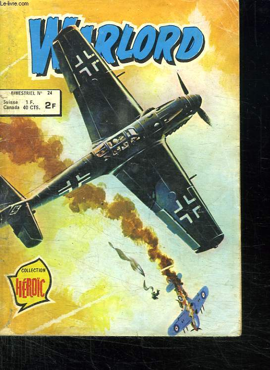WARLORD N° 24. LA BOMBE VOLANTE.