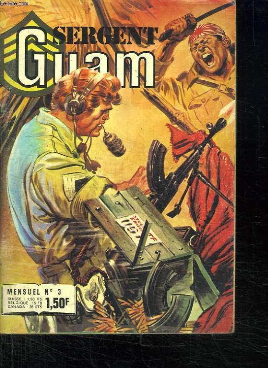 SERGENT GUAM N°3.L OR DES VAINCUS.