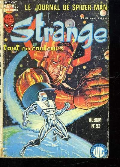 STRANGE ALBUM N° 52. LE JOURNAL DE SPIDER MAN. N° 156- 157