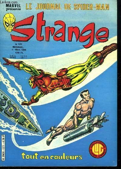 STRANGE N° 123. LE JOURNAL DE SPIDER MAN.