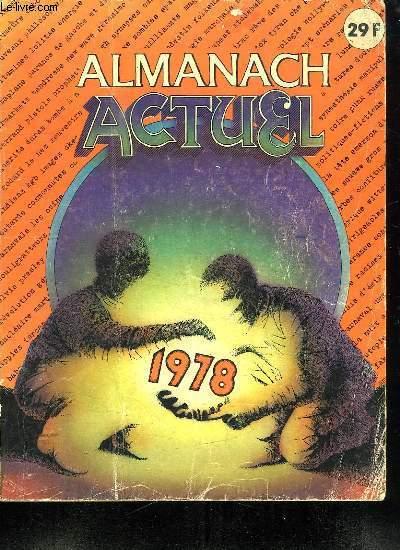 ALMANACH ACTUEL 1978.